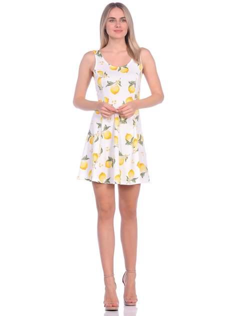 Платье женское Modis M201W00905S510 желтое 44; 46