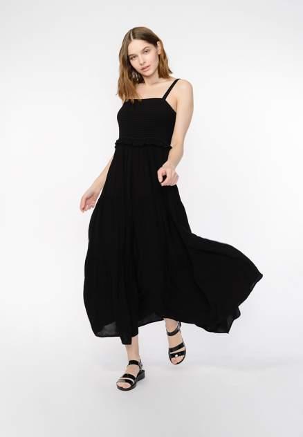Платье женское Modis M201W00911S642 черное 46