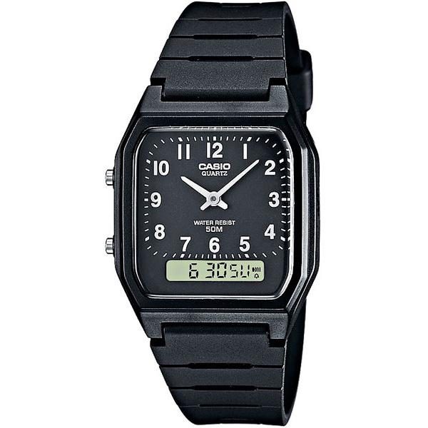 Наручные часы кварцевые мужские Casio Collection AW-48H-1B