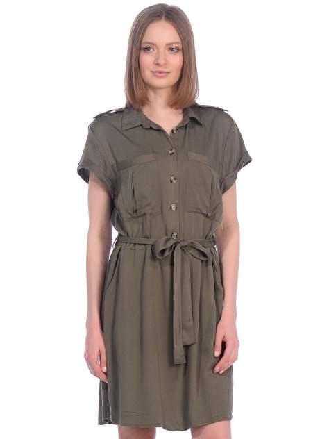 Платье женское Modis M201W01004O763 зеленое 50