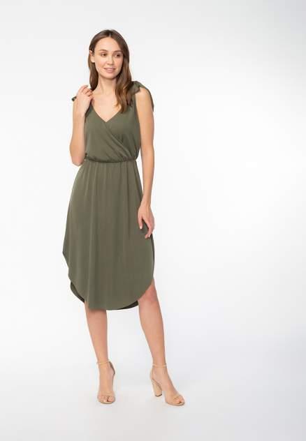 Женское платье Modis M201W01005, зеленый
