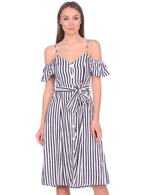 Платье женское Modis M201W01122T319 белое 44