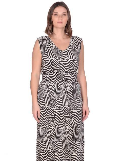 Платье женское Modis M201W01181A324 черное 5XL