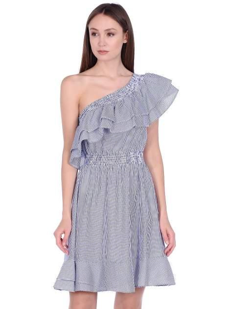 Платье женское Modis M201W01194S258 голубое 50