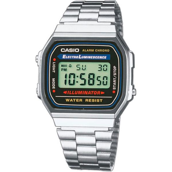Наручные часы электронные мужские Casio Illuminator Collection A-168WA-1