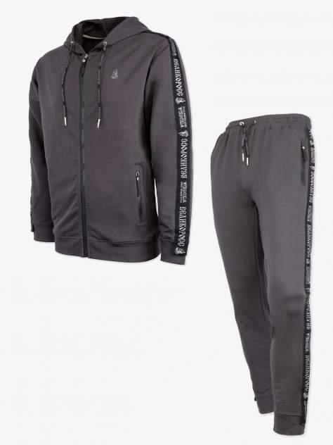 Спортивный костюм Великоросс K501, темно-серый, 54 RU