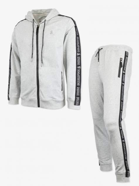 Спортивный костюм мужской Великоросс 21, серый