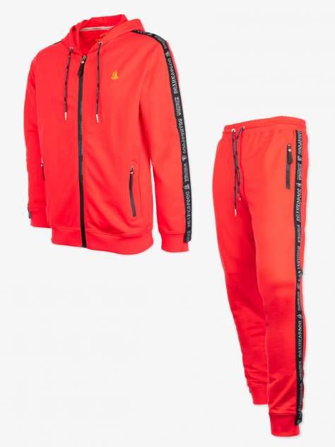 Мужской костюм Великоросс 21, красный
