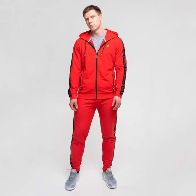 Спортивный костюм Великоросс К505, красный, 58 RU