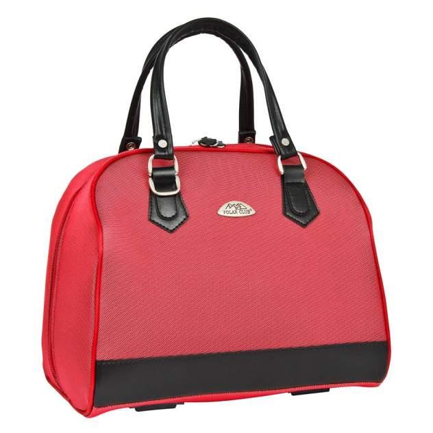 Бьюти-кейс для косметики женский Polar 7057 красный