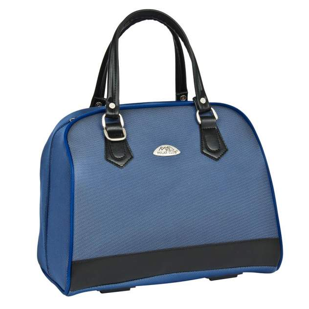Бьюти-кейс для косметики женский Polar 7057 синий