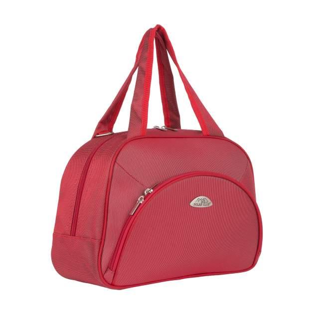 Бьюти-кейс для косметики женский Polar П7093 красный