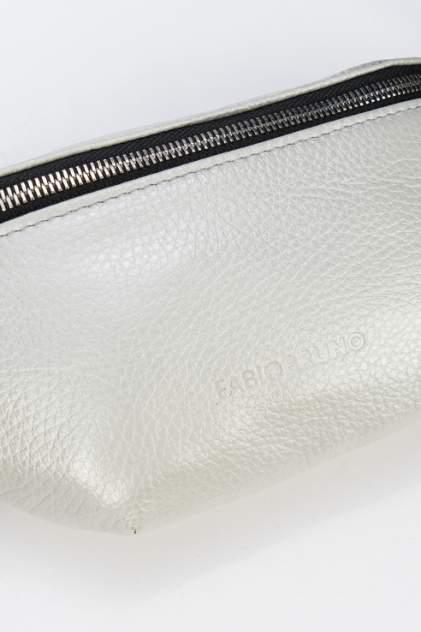 Поясная сумка женская Fabio Bruno R-1929 серебряная