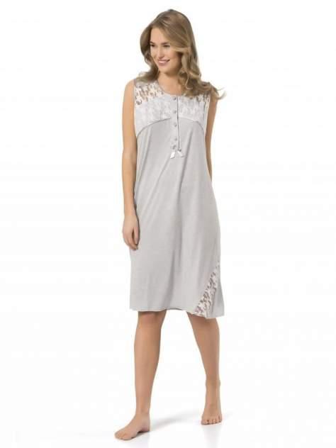 Ночная сорочка женская Turen 3124 серая 3XL