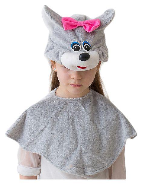 Карнавальный костюм Бока Мышь, цв. серый р.122