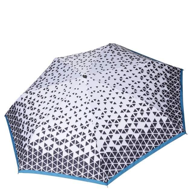 Зонт складной женский автоматический FABRETTI P-18107-6 серый