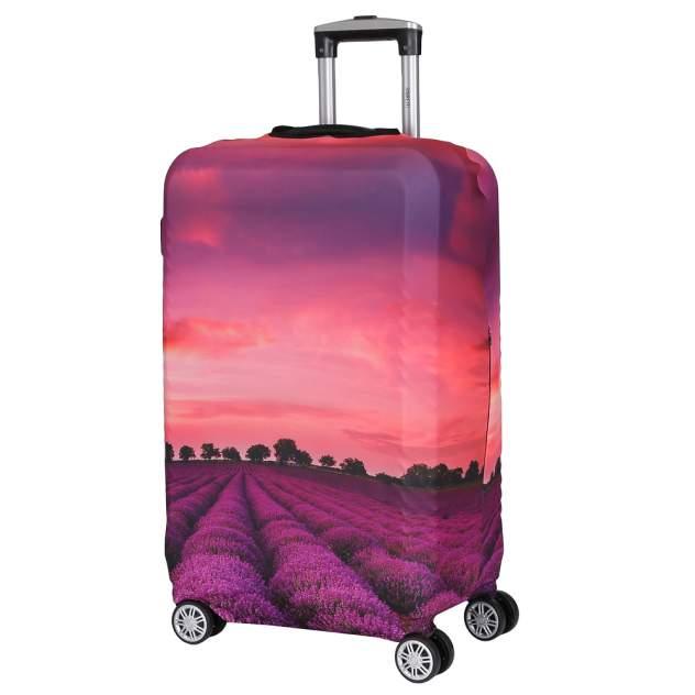 Чехол для чемодана FABRETTI W1012, фиолетовый
