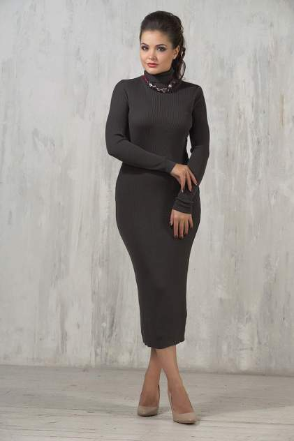 Платье женское VAY 2237 серое 46 RU