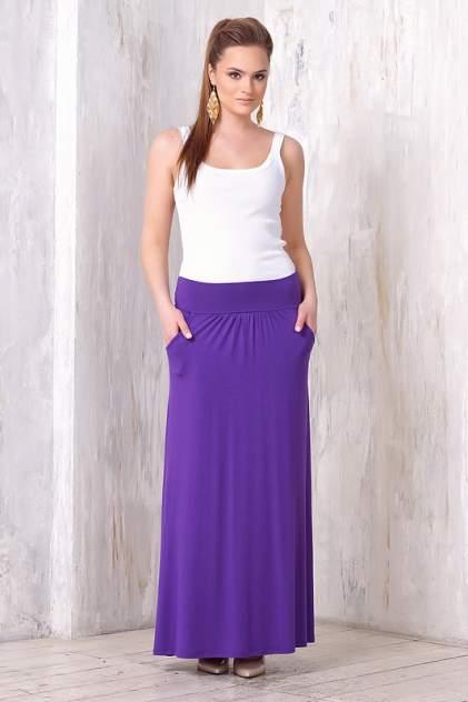 Юбка женская VAY 3115 фиолетовая 42 RU