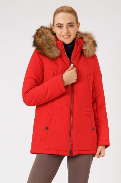 Куртка женская Finn Flare A18-12027 красная 2XL