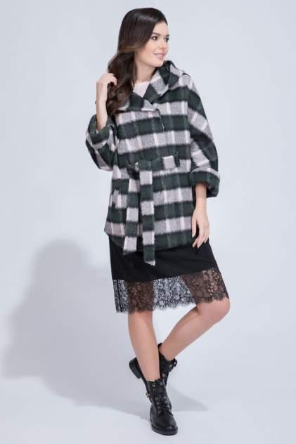 Пальто женское ElectraStyle 2-8033/1-283 розовое 42 RU