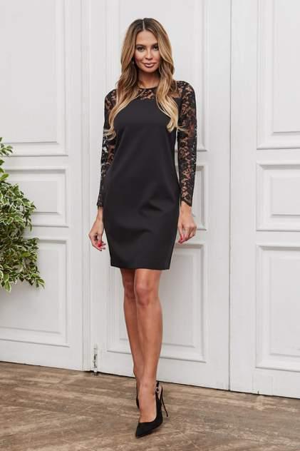 Платье женское Vittoria Vicci 1908-03-52108 черное 52 RU