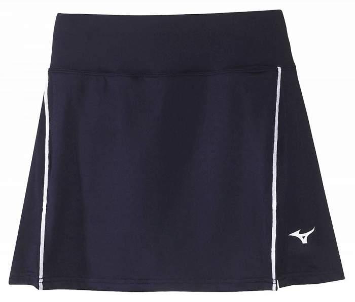Спортивная юбка Mizuno Hex Rect Skort, темно-синяя, S