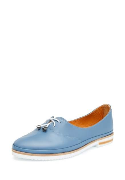 Лоферы женские Alessio Nesca 710018057, голубой