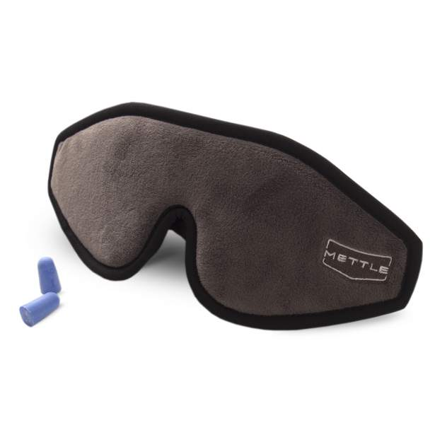 Маска для сна Mettle 3D Ультра Комфорт серая