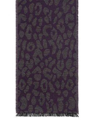 Шарф мужской Eleganzza JB42-6034 фиолетовый/серый