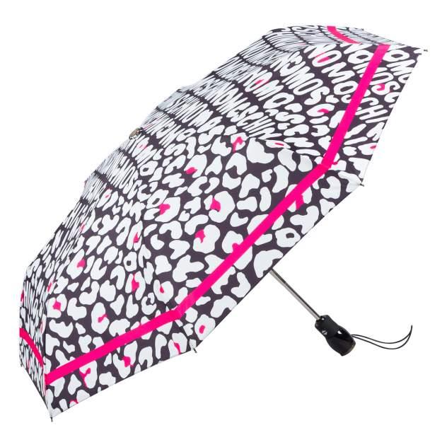 Зонт складной женский автоматический MOSCHINO 8013-OCA черный