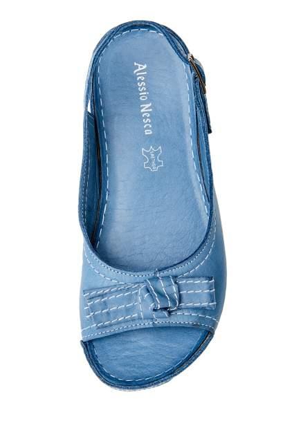 Босоножки женские Alessio Nesca 710018268 голубые 38 RU