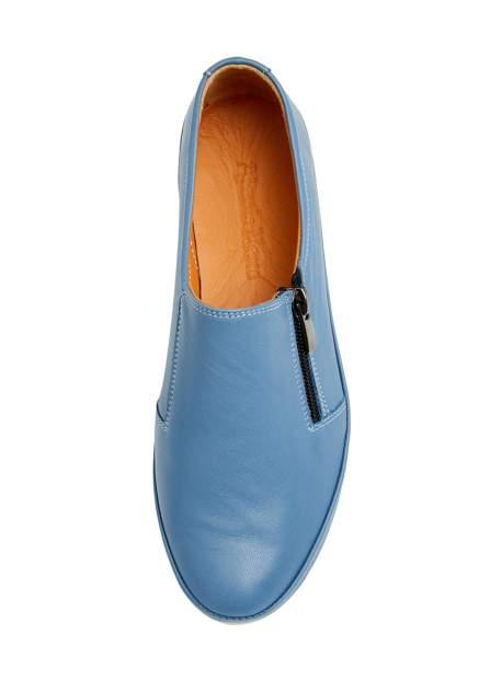 Слипоны женские Alessio Nesca 710018206 голубые 36 RU