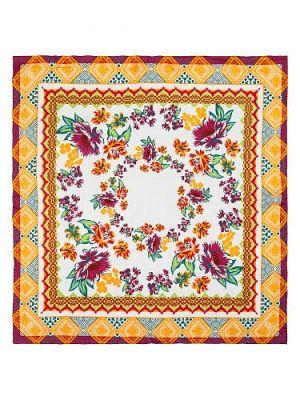 Платок женский Eleganzza 01-00032470 оранжевый