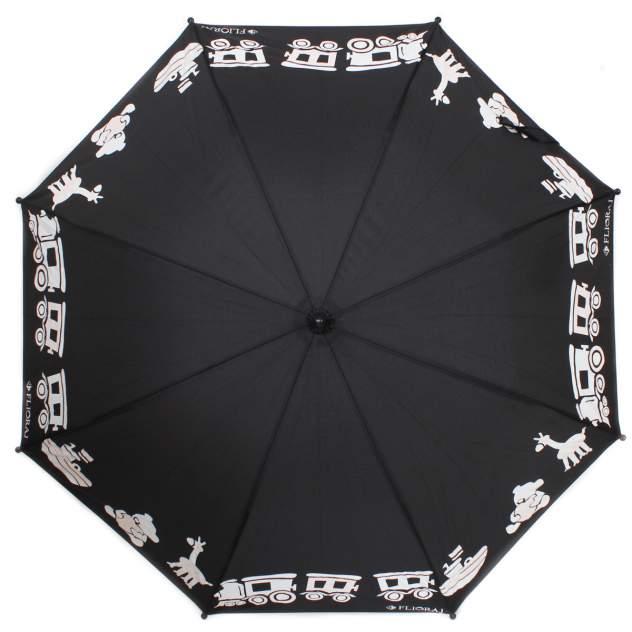 Зонт-трость женский механический Flioraj 051209 FJ черный