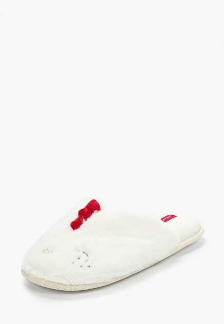 Домашние тапочки женские Halluci Цыплята белые 38-39 RU