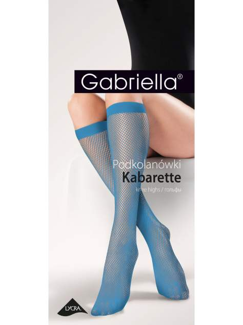 Гольфы женские Gabriella синие UNI