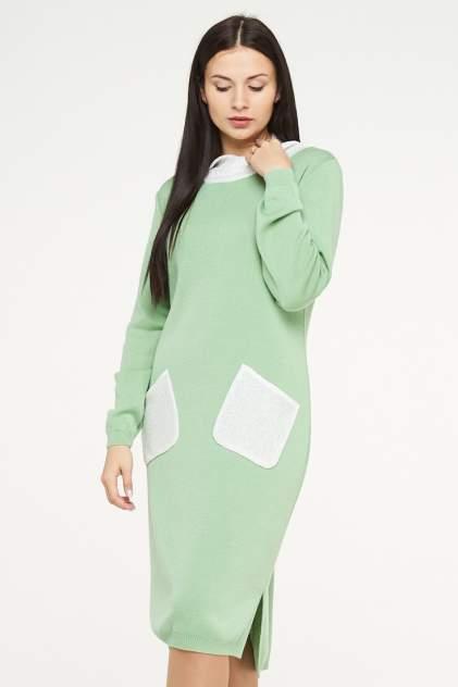 Платье женское VAY 182-2369 зеленое 50 RU