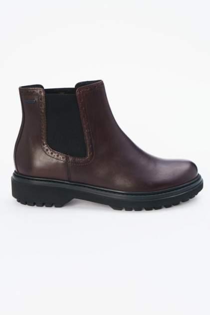Ботинки женские GEOX D84AYB/00043, бордовый