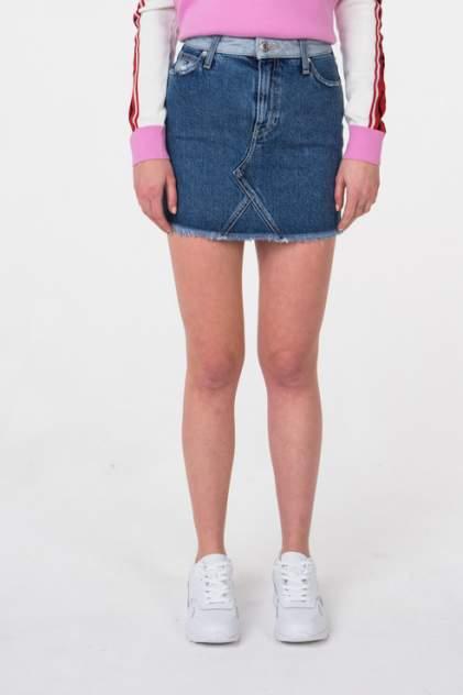 Женская юбка Tommy Jeans DW0DW05926, синий