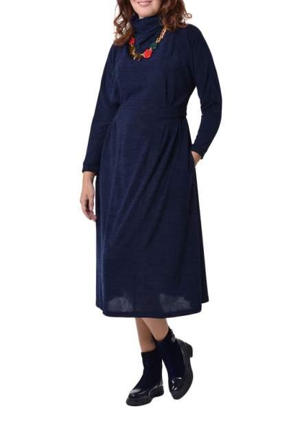Платье женское KATA BINSKA LAURA 190956 синее 48-50 EU