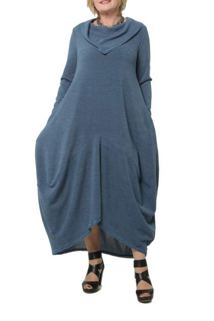 Платье женское KATA BINSKA BRET 190820 синее 52-54 EU