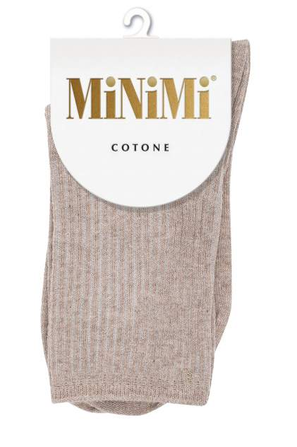 Носки женские MiNiMi MINI COTONE 1203 бежевые 35-38