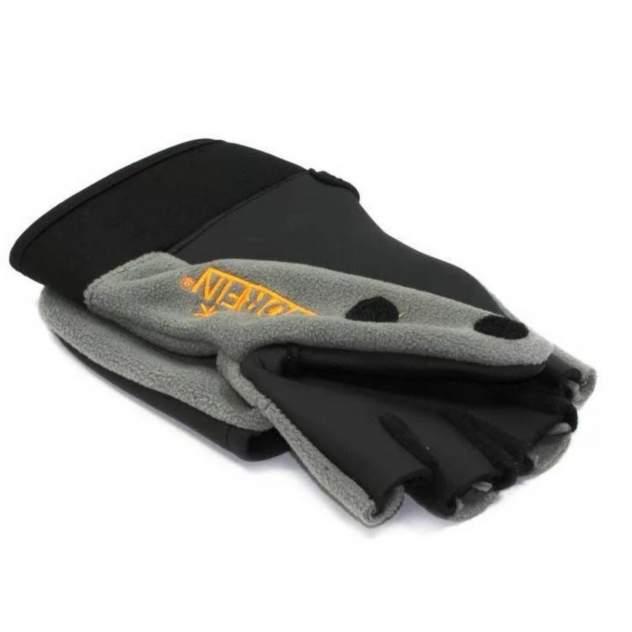 Перчатки-варежки Norfin Helium, серые, L