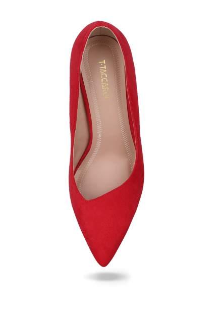 Туфли женские T.Taccardi 710018721 красные 39 RU