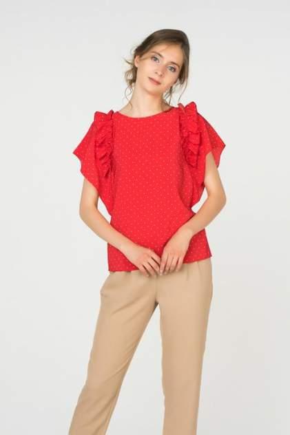 Блуза женская ZARINA 8224100330070 красная 42 RU
