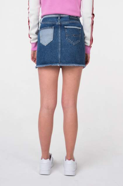 Юбка женская Tommy Jeans DW0DW05926 синяя 25 USA