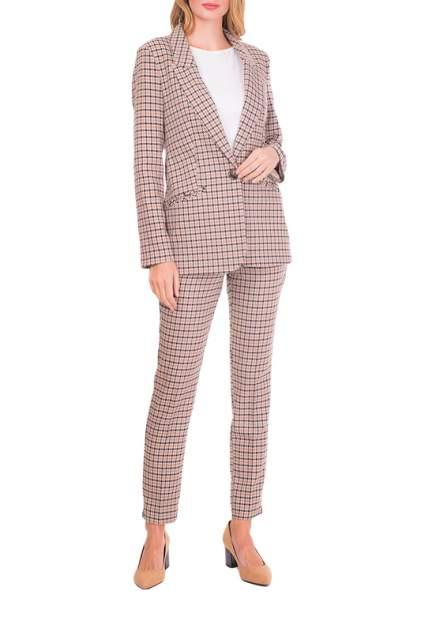 Пиджак женский Argent VZJ909129 коричневый 46 RU