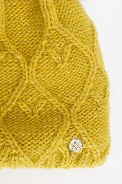 Шапка женская Marhatter MWH8554/3 желтая 56-58