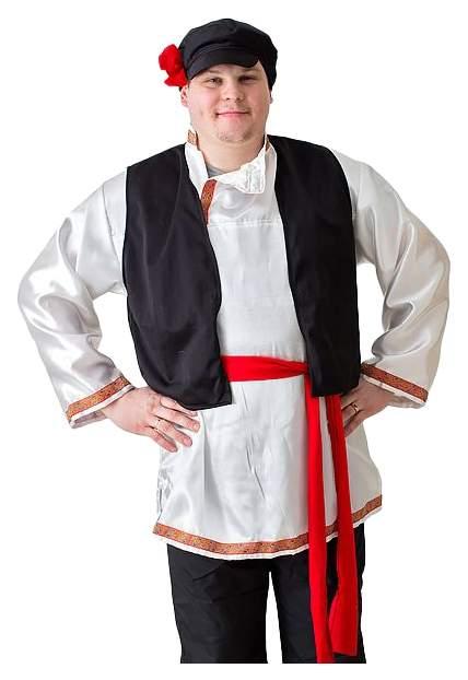 Карнавальный костюм Бока Крестьянин, цв. белый р.180